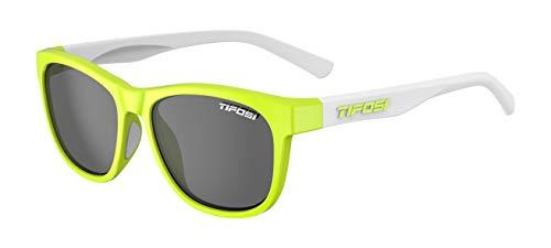 Tifosi Swank - Gafas de ciclismo para adulto, unisex, amarillo, talla única
