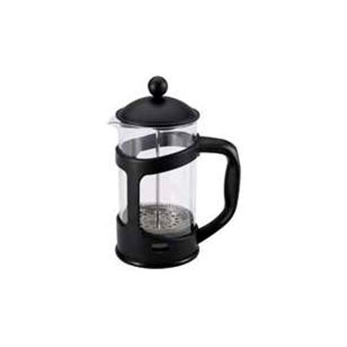 Cafetera embolo de 800 ml en vidrio y polipropileno Renberg colección Presto Black