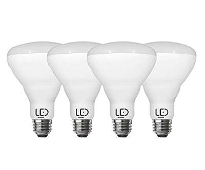 LEDYOND LED Bulb BR30 Dimmable, 8.3Watt/750 Lumens, 2700K/Soft White, E26 Medium Base, (Pack of 4)
