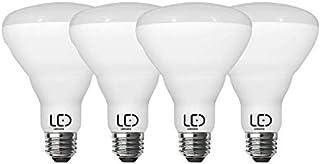 LEDYOND LED Bulb BR30 Dimmable, 8.3Watt/750 Lumens, 5000K/Daylight, E26 Medium Base, (Pack of 4)
