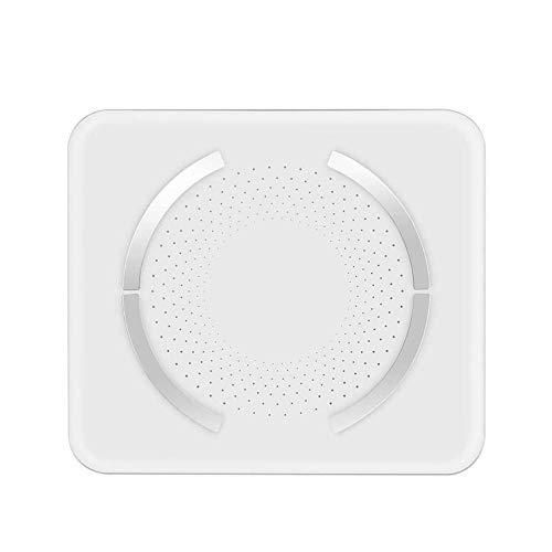 NCRD Bluetooth Smart Bath Bath Scales para el peso corporal Escala de grasa corporal digital, 400 libras, peso automático de peso corporal, grasa, IMC, Agua, BMR, Masa muscular, Pantalla LED Prendeder