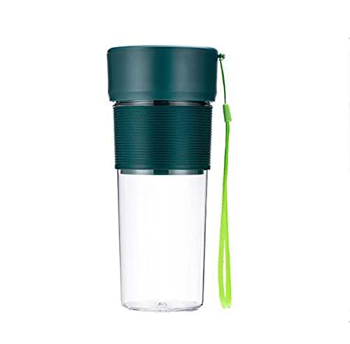 Ning Night Blender Personal para Batidos y Batidos, licuadora portátil, licuadora de tamaño Personal para Batidos, Jugo de Frutas, Batidos de Leche,Verde
