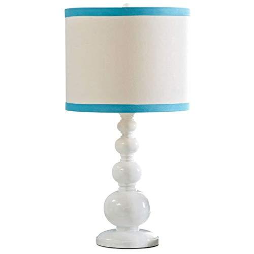 SPNEC Lámpara de Mesa, lámpara de cabecera del Dormitorio Protección de los Ojos Europea Sencilla y cálida Home Living Lámpara de Habitaciones