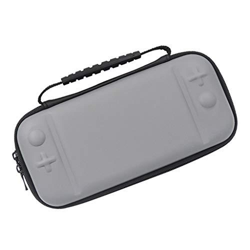 H HILABEE para Switch Lite Bolsa de Almacenamiento de Consola Bolsa Protectora de EVA Dura - Gris