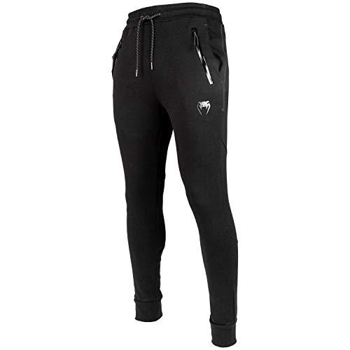 Venum Laser Evo Pantalon de Jogging Homme, Noir, FR : 2XL (Taille Fabricant : XXL)