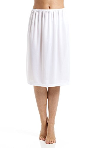 Camisón/combinación para Mujer - Tallas 38 a 52 - Blanco