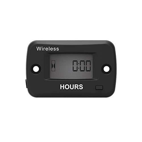 Runleader Digital Wireless-Stundenzähler, vibrationsaktiviert, Wartungserinnerung, rücksetzbarer Job-Timer, Abschalten der Benutzersperre, Verwendung für den Motor