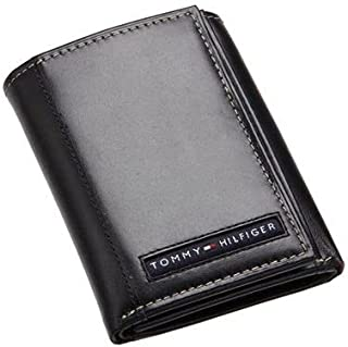 Tommy Hilfiger Men's Wallet, Leather Black, 31TL22X062001-2724313447304