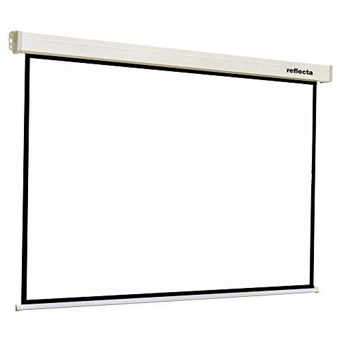 Reflecta Crystal-Line Rollo Softlift Projektionsleinwand, 200 x 200 cm, Weiß