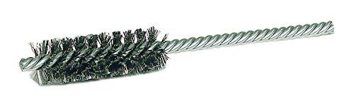 Weiler 21115 Power Tube Brush, Double Stem/Double Spiral, 1