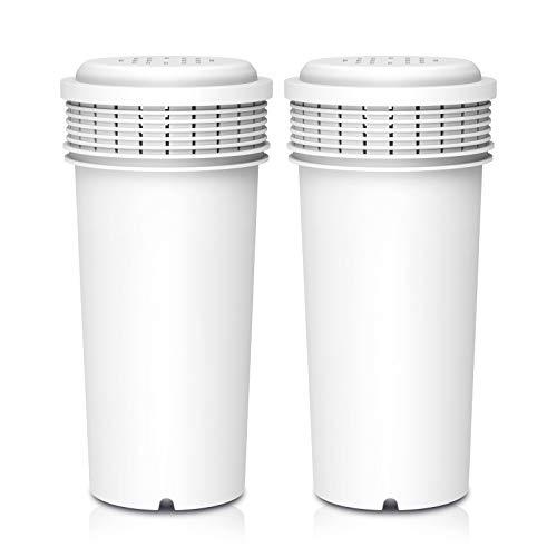 Clarifilter CLF-42371240 cartucho de filtro de agua de repuesto compatible con Tommee Tippee® Closer To Nature Perfect Prep Machine (2)