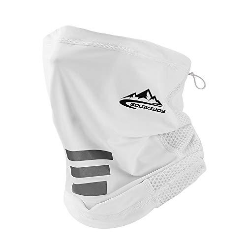 UV STYLISH Braga Cuello Moto Pasamontañas Mascarilla - Calentador Gorro Multifunción De Pañuelos Cabeza Deporte Bandana Bufanda Máscara Facial Deportiva Hombres Ciclismo Correr Aire Libre