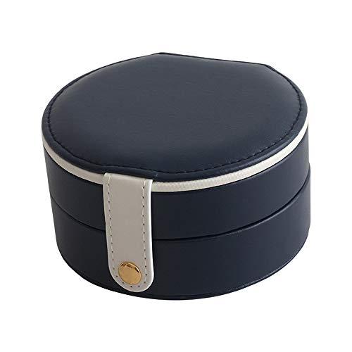 Sksngf Boxen, Schmuckschatullen, Simple Storage-Boxen, European Style, Flanell, Leder Material, Magnet Buckle Entwurf, klassifiziert werden können, leicht zu tragen, wasserdicht, feuchtigkeitsbeständi