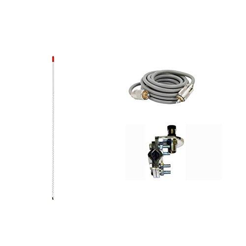 Pro Trucker Single 3' 750 Watt CB Radio Antenna...