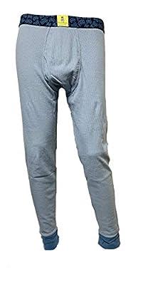 Psycho Bunny Modern Long Johns Thermal Underwear (Medium, Heron)