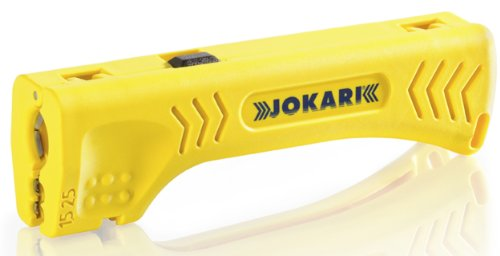 Jokari 30400 Uni-Plus Cable Strippers for Quick, Precise Cable Stripping, 13cm L x 3.8cm W x 2.5cm H by JOKARI