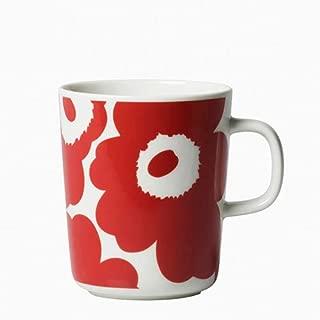 marimekko UNIKKO マグカップ [63431] (限定ホワイト×レッド 76(131))