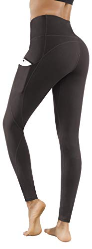 Lingswallow High Waist Yoga Pants - Yoga Pants with Pockets Tummy Control, 4 Ways Stretch...