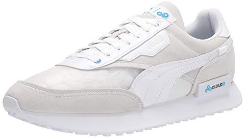 PUMA Men's Future Rider X CLOUD9 Sneaker, White, 6.5