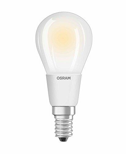Osram LED SuperStar Classic P Lampe, in Tropfenform mit E14-Sockel, dimmbar, 4.5W=40 Watt, Matt, Warmweiß - 2700 Kelvin, 1er-Pack