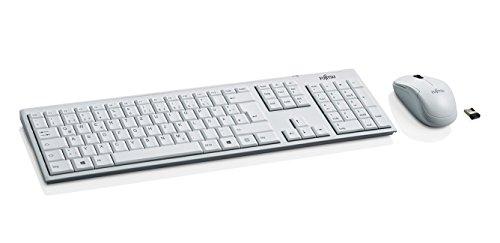 Fujitsu LX390 kabellose Tastatur-Maus Kombination weiß