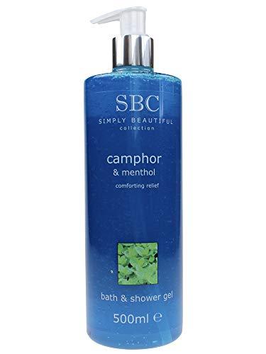 SBC Camphor & Menthol Bath & Shower Gel • Kampfer & Menthol Duschgel (500ml)