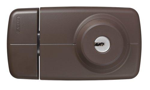 ABUS Tür-Zusatzschloss 7025 mit beidseitigem Zylinder, braun, 53295