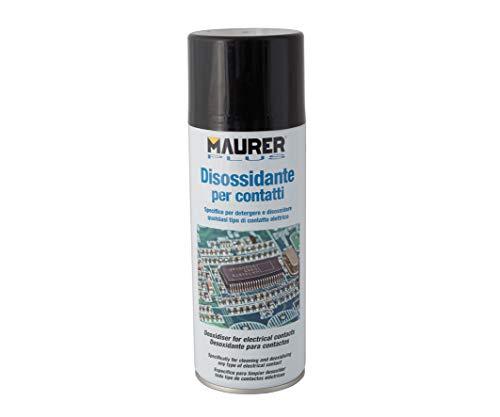 Disossidante per Contatti Elettrici Spray Specifico 400 Ml Maurer