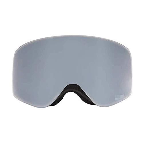 WCJ Skibrille über Gläser Ski Snowboard Schutzbrillen for Männer, Frauen und Jugend UV-Schutz Doppel-Objektiv Anti-Fog-Outdoor-Klettern windundurchlässiges Einzel- und Doppel Brett (Color : D)