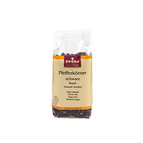 Premium Qualität Gewürz EDORA Beutel Tüte Pfefferkörner schwarz ganz Belem / Brasil ASTA Pfeffer 85 Gramm