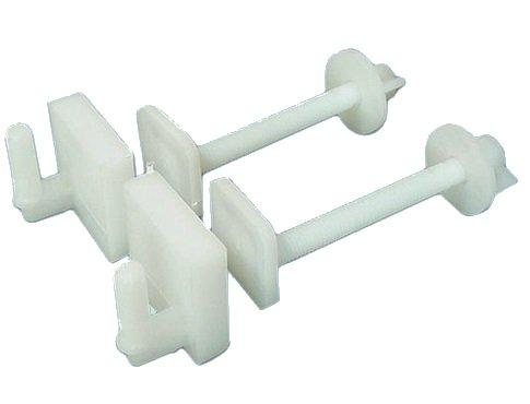 FRASCHETTI Cerniere Nylon per SEDILI WC Modello Standard UNIVERSALI