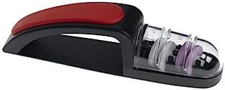 Minosharp M263961 - Afilador de Cuchillos Rojo y Negro