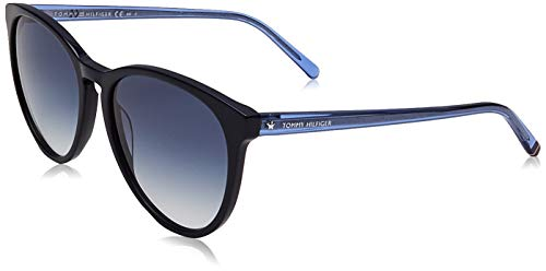 Tommy Hilfiger TH 1724/S gafas de sol, AZUL, 56 para Mujer
