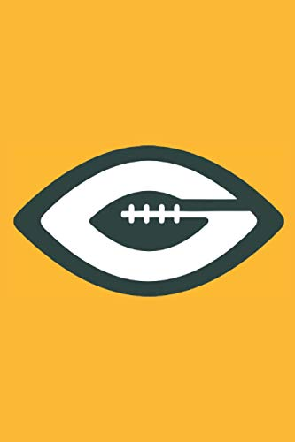 Green Bay Packers Notebook: Minimalist Composition Book | 100 pages | 6