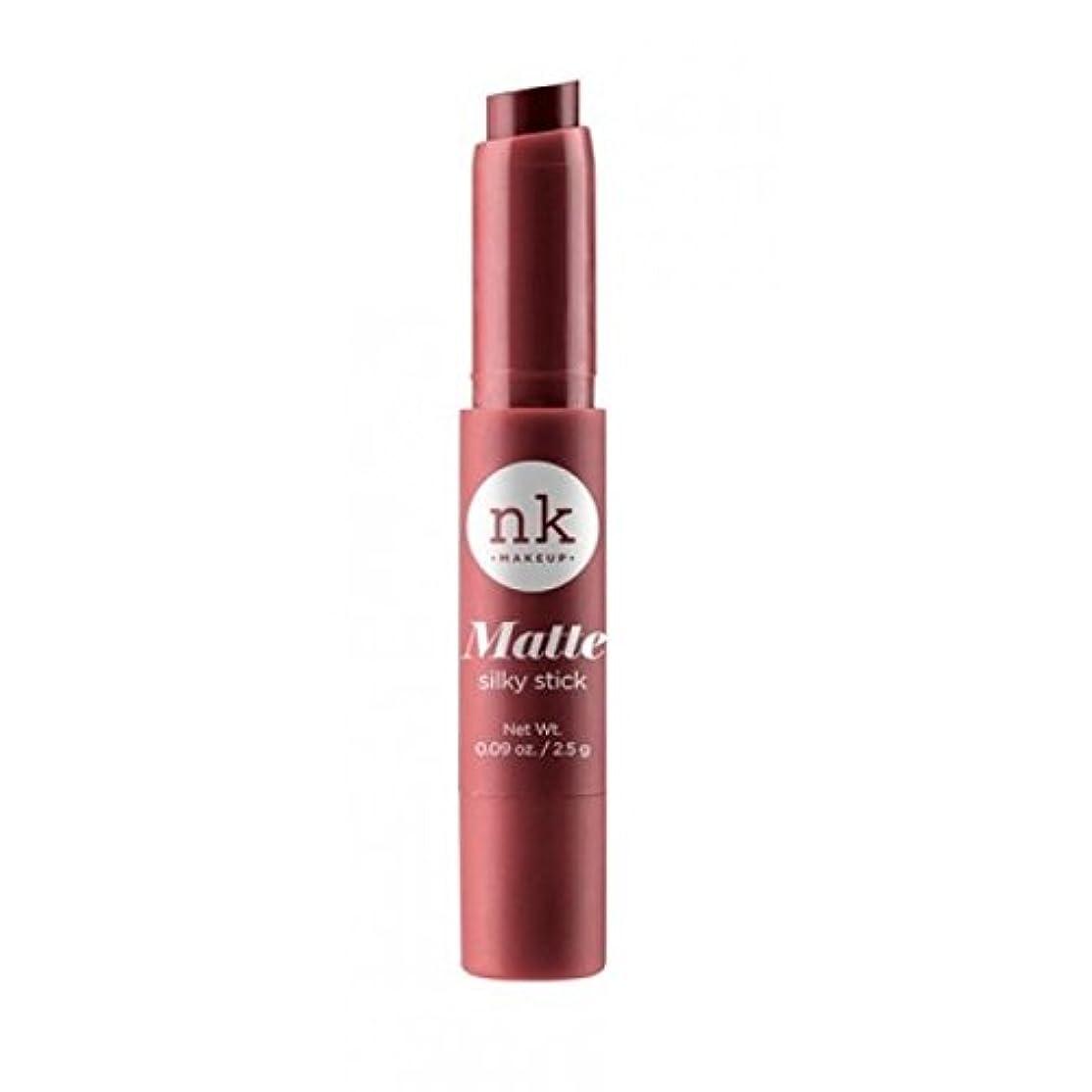 どんよりしたニンニク有名人NICKA K Silky Matte Stick - Sanguine Brown (並行輸入品)