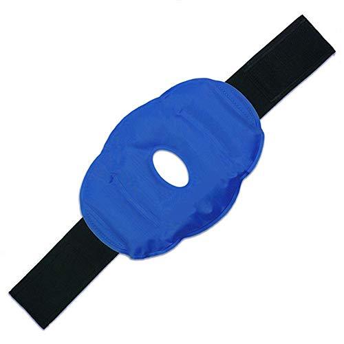 Rodillera de gel frío para rodilla reutilizable con correa, perfecta para cirugía, hinchazón, alivio del dolor de articulaciones, artritis