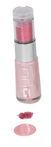 Nagellack - 8 ml - mit Glitter - rosa