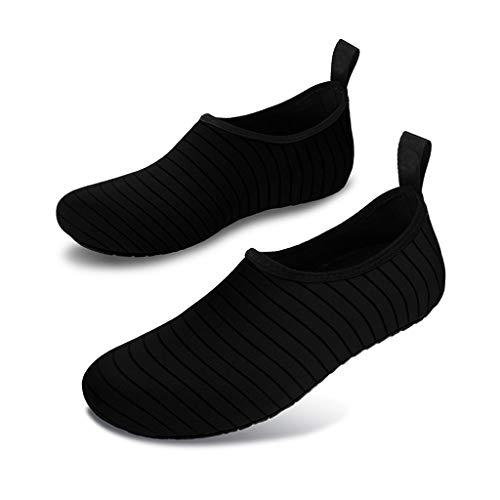 SHTAXJWXW Zapatillas de deporte de playa al aire libre zapatos de agua de verano hombres nadando calcetines de buceo Aqua zapatos mujeres antideslizante transpirable aptitud zapatillas de deporte