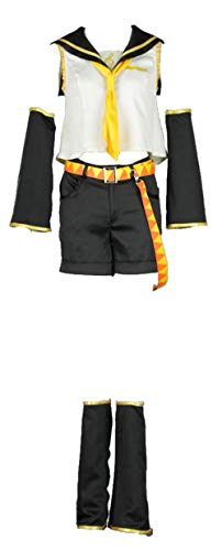 CHIUS Cosplay Costume Outfit Set for Kagamine Rin Outfit Version 1