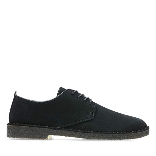 Clarks Originals Desert London, Scarpe Stringate Derby Uomo, Black Sde, 42.5 EU