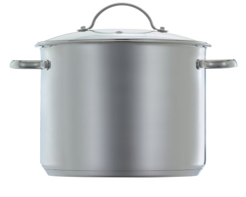 Wearever 12 Quart Stainless Steel Stockpot with Glass Lid