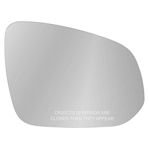 Fit System 90287 Passenger Side Mirror Glass, Toyota Highlander, Rav4, 4Runner, Tacoma, w/o Blind spot
