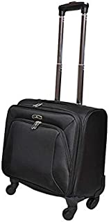 Track Luggage Trolley Bag, 16-Inch