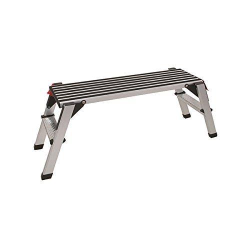INTRA-TEC Aluminium Sicherheits-Montage-Laufbühne, Arbeitsplattform Tragkraft 150 kg