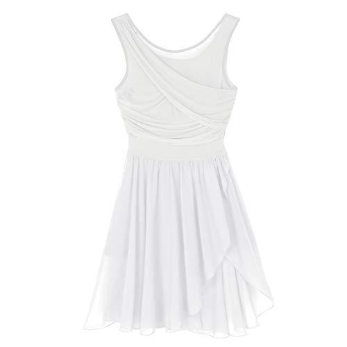 Agoky Vestido de Danza Ballet para Mujer Vestido de Baile Latino Moderno...