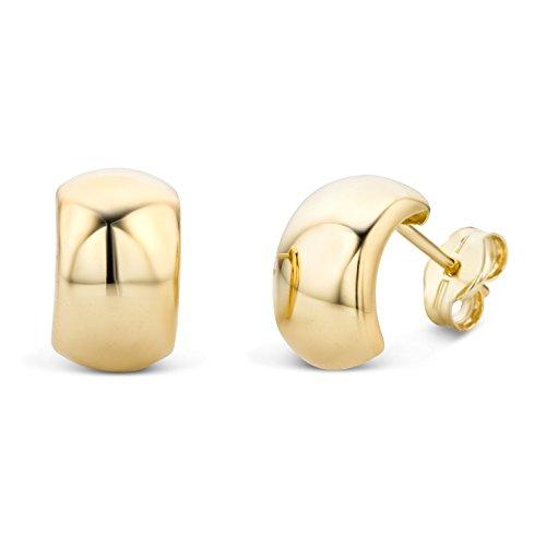 Miore Ohrringe Damen Gelbgold 14 Karat / 585 Gold Ohrstecker