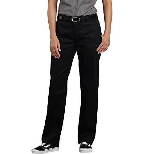 Dickies Women's Flex Original Fit Work Pants, Black, 12