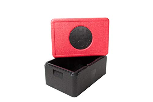 THE BOX EPP-Thermobox GN 1/1 NH 21 cm 38,0 L Isolierbox aus EPP Kunststoff