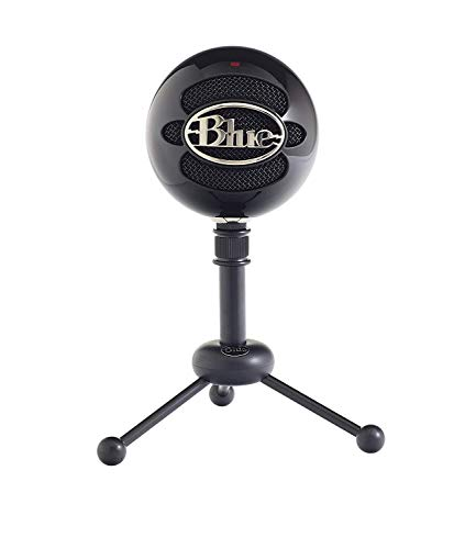 Blue Microphones Snowball Notebook Microphone Zwart - Microfoon (Notebook Microphone, 40-18000 Hz, 16 Bit, 44,1 kHz, Omnidirectional, bedrading)