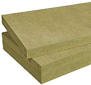 Futurazeta – Lana de roca de 30 mm de grosor. Paquete (7,20 m²) n° 10 paneles Acoustic 234 Plus densidad aumentada semirrígida